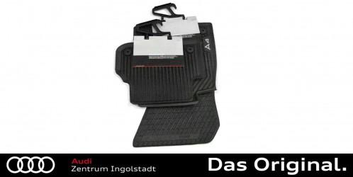 Original Audi Q3 8U Gummimatten Gummifussmatten Fußmatten vorn hinten Set