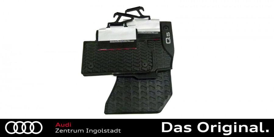 Original Audi Q5 Gummimatten//Gummifußmatten Audi Q5 für vorne und hinten