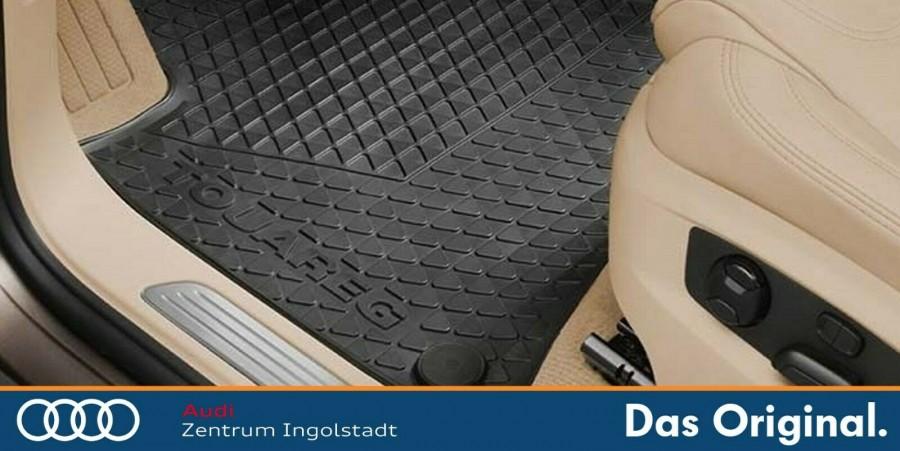 Gummimatten Fußmatten Allwetterfußmatten vorn Original VW Touareg 7P1061501  041