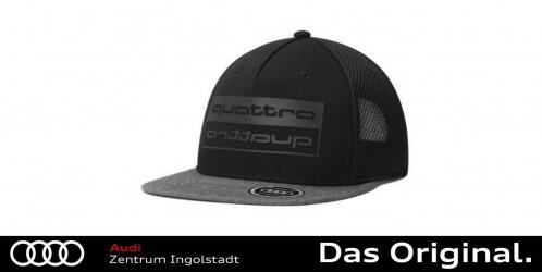 Audi quattro Hoodie Herren grau Grösse M 3132000803
